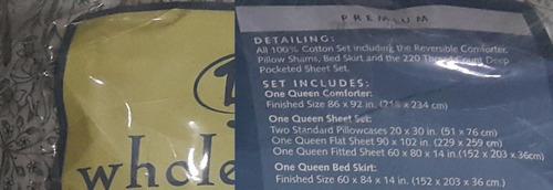 cama queen edredon