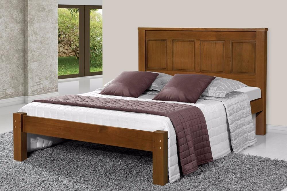 cama queen size leticia de madeira maci a pinus r 920 00 em mercado livre. Black Bedroom Furniture Sets. Home Design Ideas