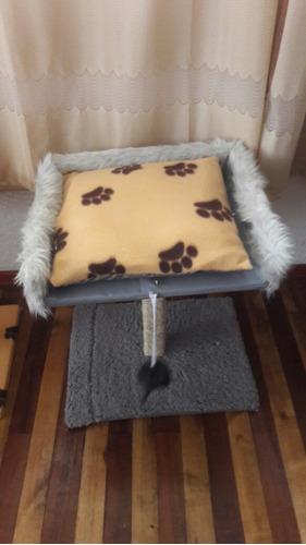 cama rascador para gatos