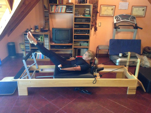 cama reformer pilates resortes