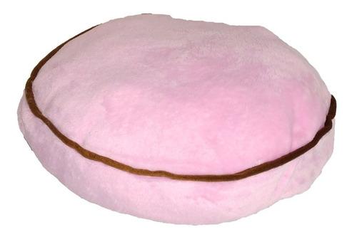 cama reforzada redonda rosa 40cm de diámetro