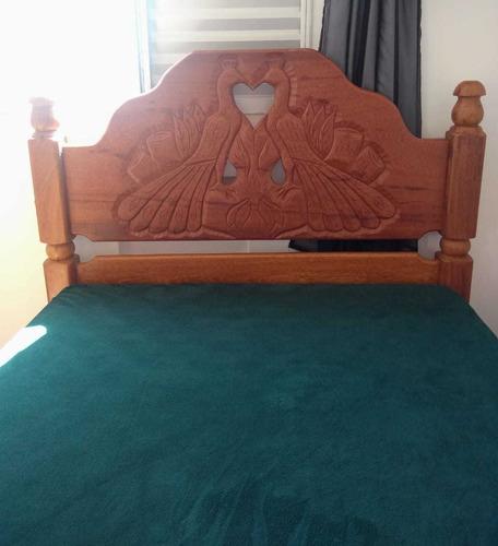 cama rústica madeira angelin pedra