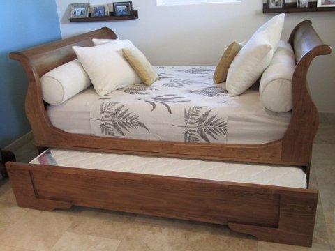 Cama sillon estilo restauration hardware cama extra abajo for Ofertas de sillon cama