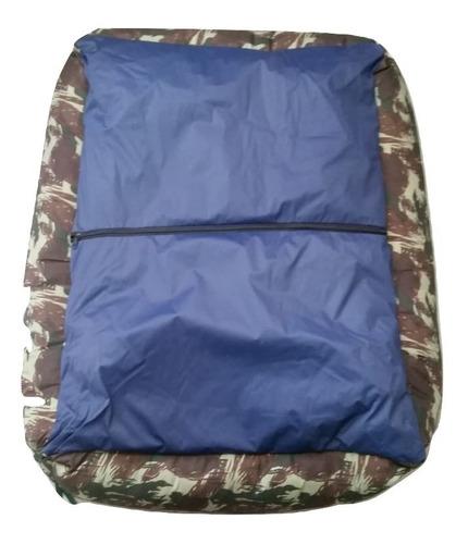 cama sofá caminha de fibra cor camuflado pet cachorro caes gatos porte / tamanho g cao.