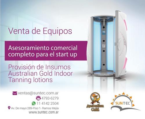 cama solar vertical ergoline suntec cabina solar bronceado