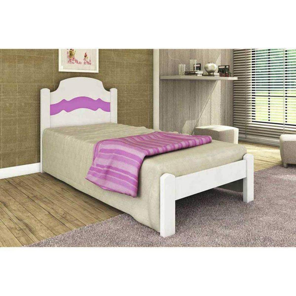 f377339c68 cama solteiro iris cambel móveis branco be. Carregando zoom.