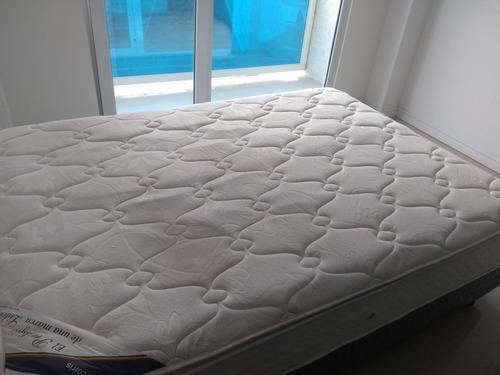 cama sommier 2 plazas.