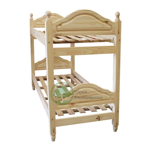 cama tablero mavic superpuesta cucheta marinera de pino