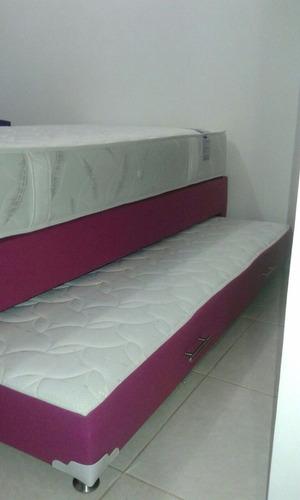 cama tarima duplex nido 100x190 colchón inferior incorporado