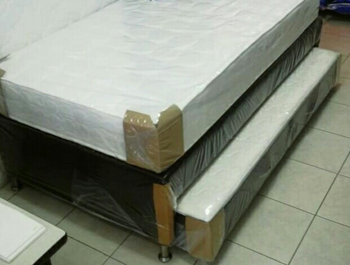Cama tarima nido 100x190 completa en mercado libre - Tarimas para camas ...