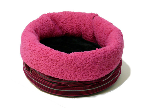 cama tipo tubo para gato o perro chico, súper cómoda