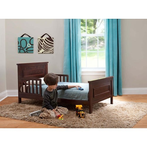 Cama Transición Babiesrus Next Steps Toddler Bed - Espresso ...
