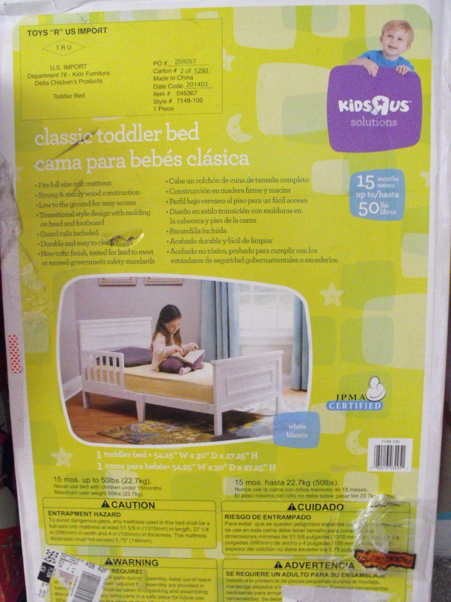 Cama Transicion Niños, Babies Rus, Madera. 135 X 70 Cms. - $ 95.000 ...