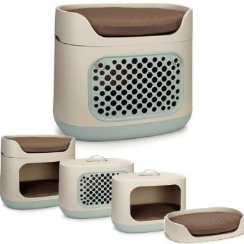 cama transportadora litera 3 en 1 para perro o gato mascotas