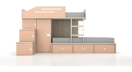 cama tren e45c la valenziana - muebles kolor