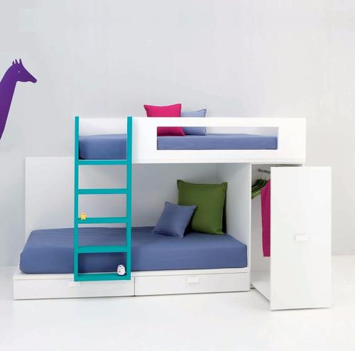 cama tren para dos niñ@s