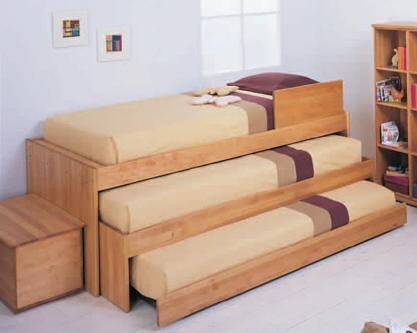 cama triple minimalista