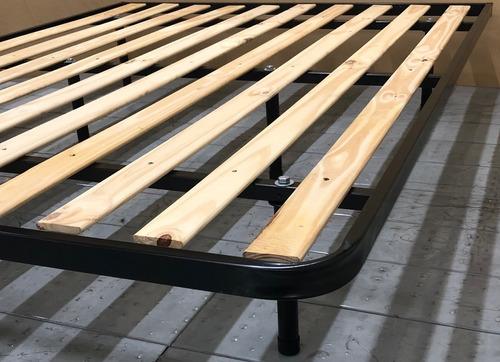 cama turca 1,40x1,90 caño estructural reforzado 6 patas!!