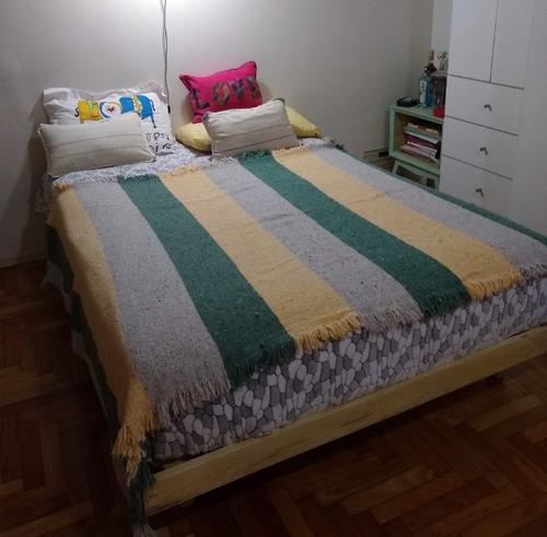 cama turca otomana 2 plazas de guatambu 140 x 190