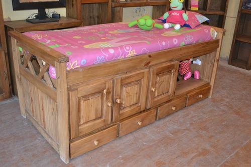 cama una plaza moderna para cuando el bebe deja de usar cuna
