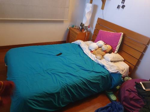 cama usada 1.20 metros comprada en mueble suizo jr.