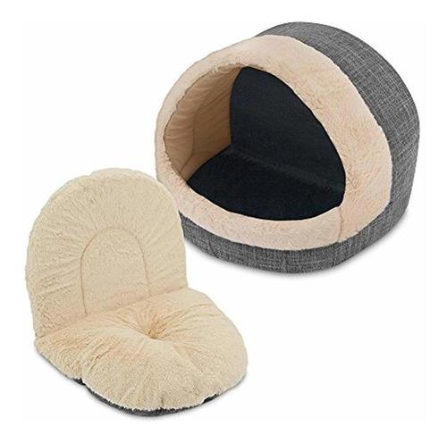 cama y cueva para gatos  en : con forro de felpa de bes...