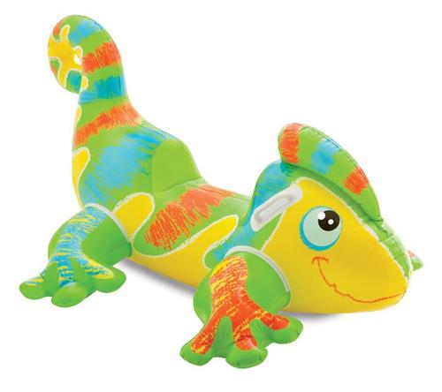 camaleon inflable intex - flotador niños - ref. 56569