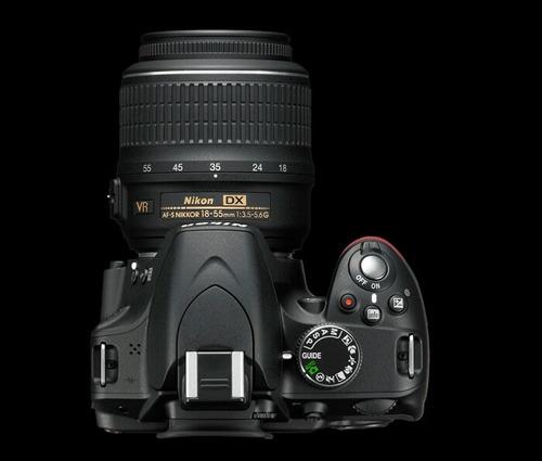 cámara 24.1 mp nikon d3200 zoom 55-200mm