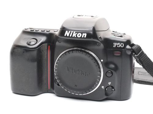 cámara 35mm nikon f50  -usada- efe9