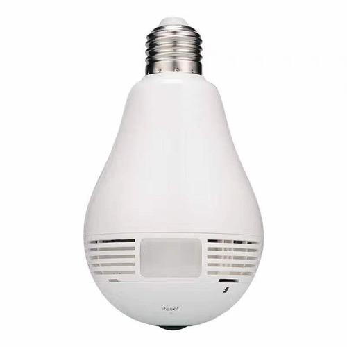 cámara 360° en lámpara led ip wifi