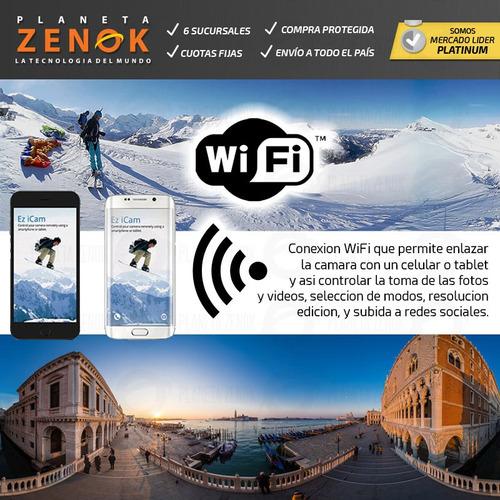 camara 360 panoramica wifi control remoto tripode 2.7k lcd