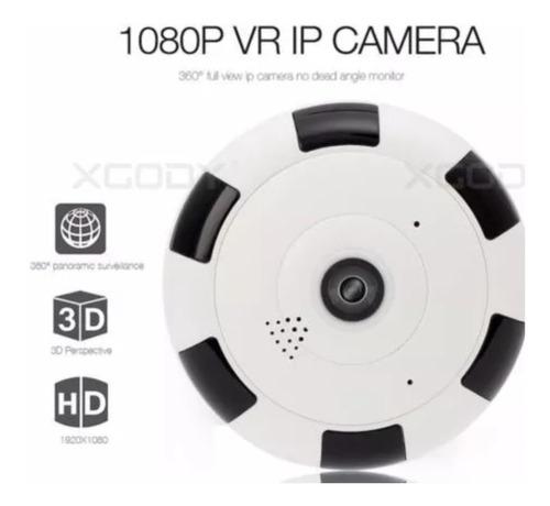 camara 360 wifi 2 megapíxeles