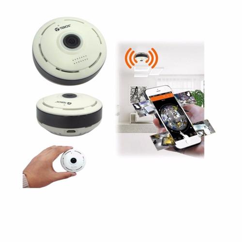 cámara 360°teros te-jm106w 720p wifi micro usb video on line