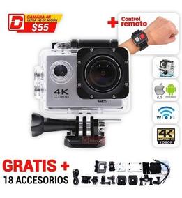 Camara 4k Ultrahd De Acción /wifi /16mp, Tipo Go Pro Hero 5
