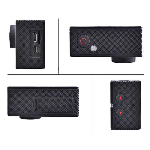 cámara 4k wifi control + 2 baterías + micro sd 16gb clase 10