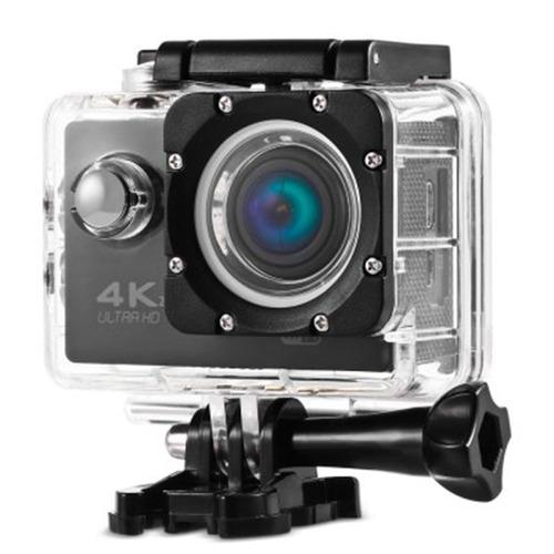 cámara 4k wifi control + aquapod + micro sd 32gb clase 10