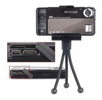 camara 5mp mp3 / mp4 mitsuba hdc-55   videocámara hd, hdmi