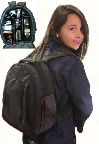 camara accesorios mochila fotográfica