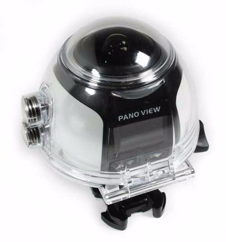 camara acción 360° v1 wifi 4k prueba de agua 16mp sumergible