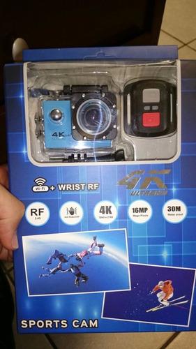 cámara acción 4k hd wifi moto/carro//16mp/ control remoto