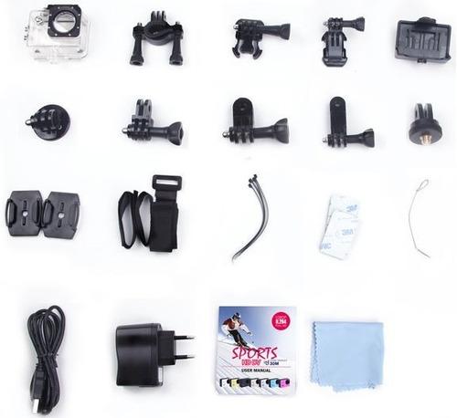 camara accion deportiva 4k control remoto wifi 16mp pantalla