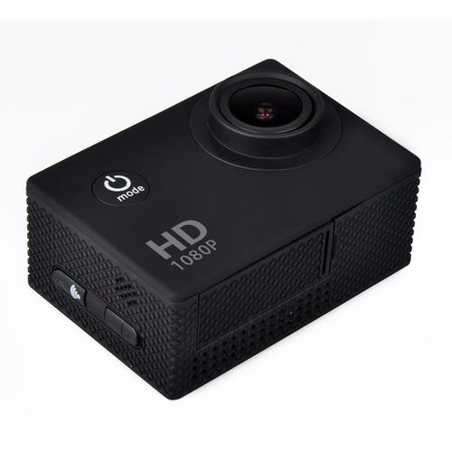 cámara acción full hd acuática x1hdr negra
