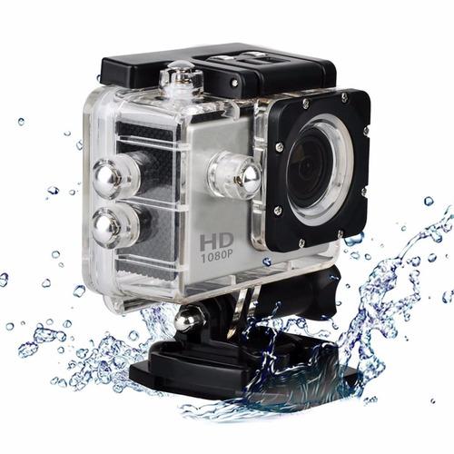 cámara acción full hd acuática x1hdr plata