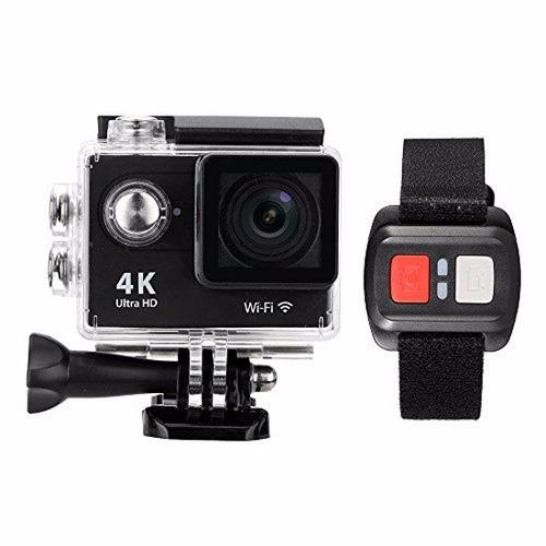 camara action cam 4k 4k hdmi pantalla 2p bateria repuesto