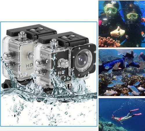 cámara acuática 30 m full hd 1080p fotos y video