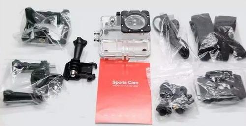 camara acuatica full hd 1080p pro tipo go, 12mp, accesorios
