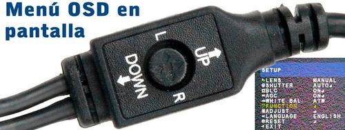 camara ahd y analógica sony 2.4mp 1080p (2000tvl) / 960h osd