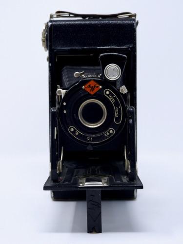 cámara antigua de fuelle marca agfa ca. 1930