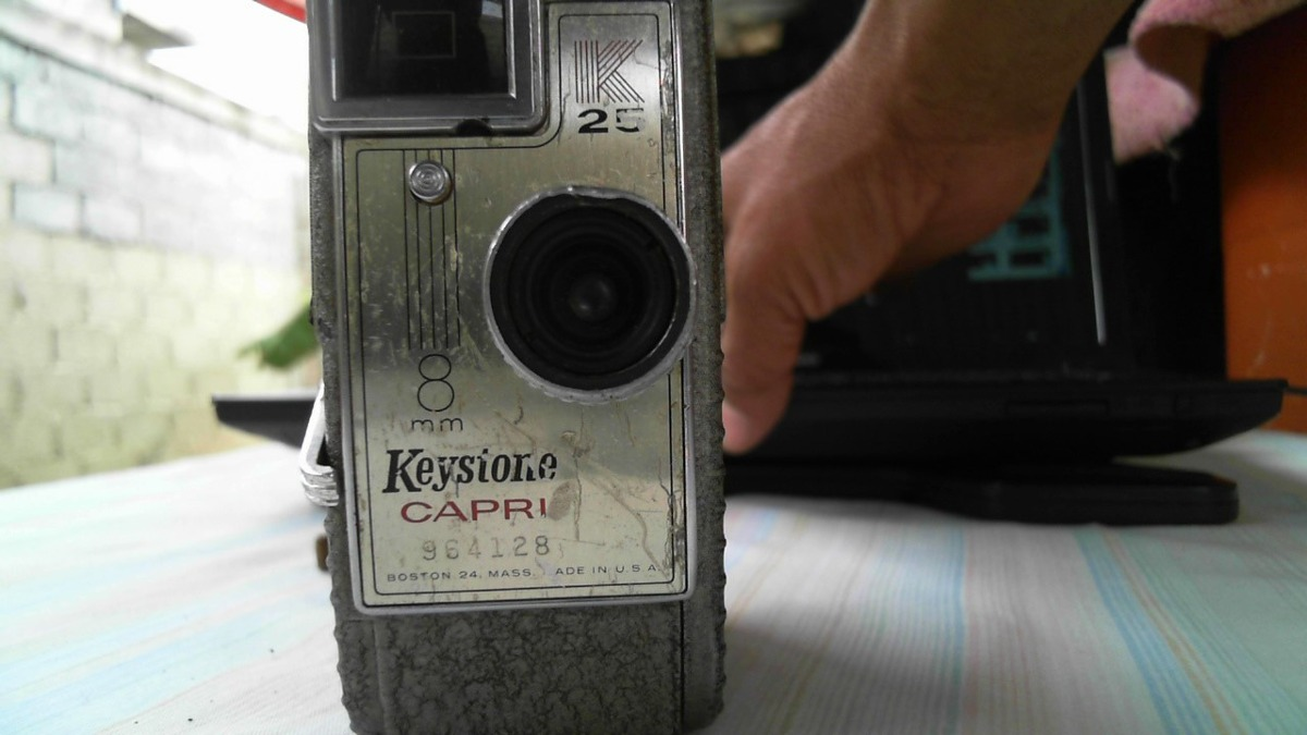 Camara Antigua Firmadora Keystone Capri K25 Del Año 1946 - Bs  1 900 000,00