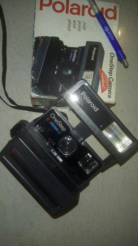 camara antigua polaroid one step instant camera